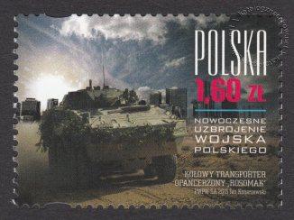 Nowoczesne uzbrojenie Wojska Polskiego - znaczek nr 4475