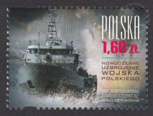 Nowoczesne uzbrojenie Wojska Polskiego - znaczek nr 4476