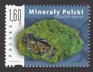 Minerały Polski - znaczek nr 4483