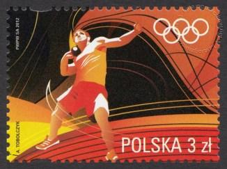 Igrzyska XXX Olimpiady Londyn 2012 - znaczek nr 4427