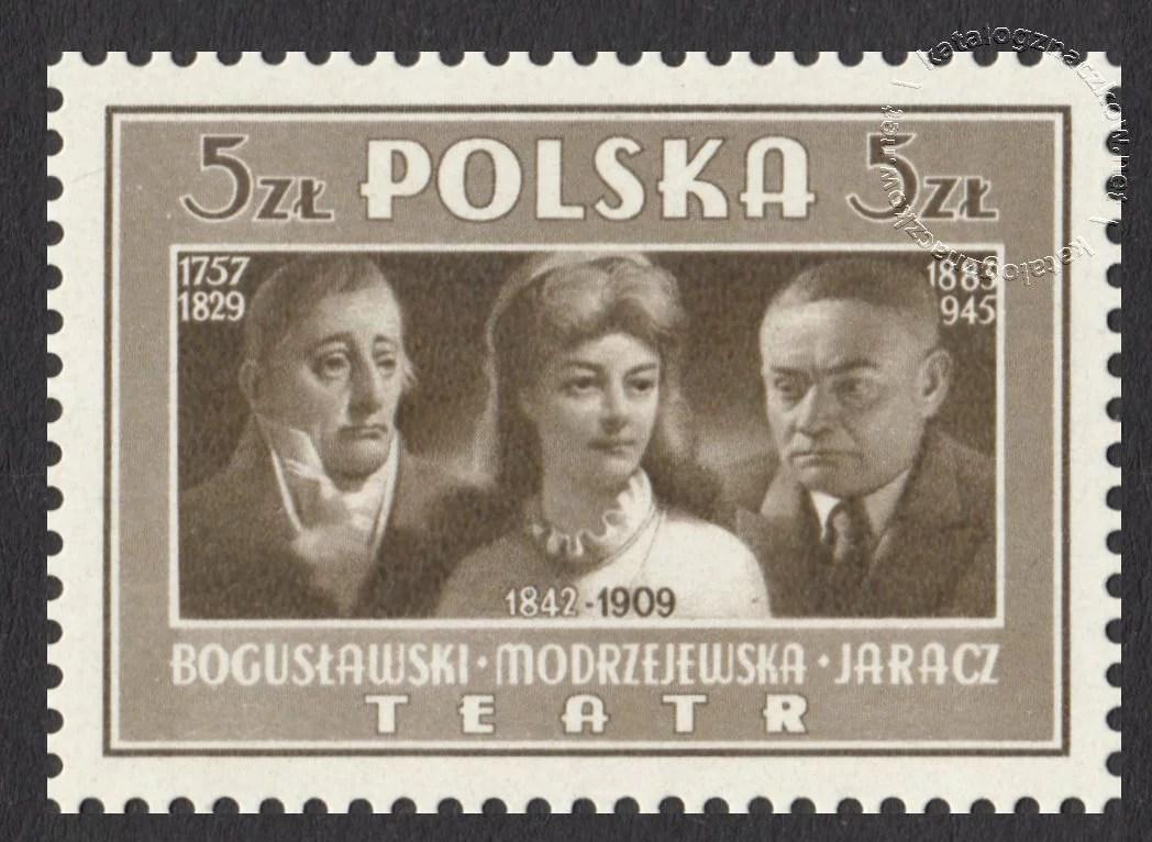 Kultura Polska znaczek nr 432a