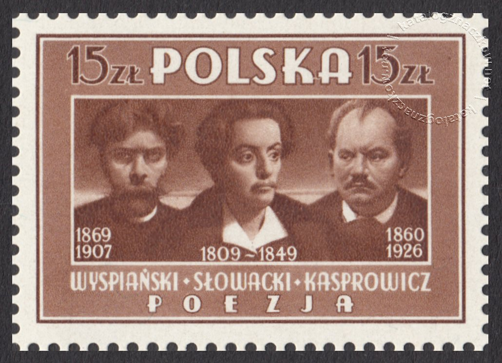 Kultura Polska znaczek nr 435a