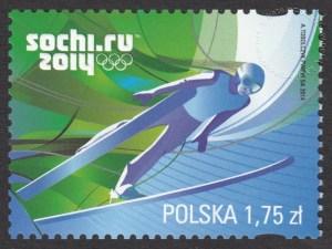 XXII Zimowe Igrzyska Olimpijskie - Soczi 2014 - znaczek nr 4508