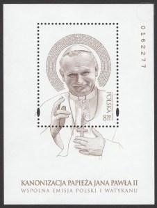 Kanonizacja Papieża Jana Pawła II - Blok 178
