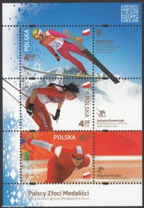 Polscy Złoci Medaliści - ark. 4521-4523