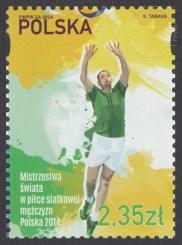 Mistrzostwa świata w piłce siatkowej mężczyzn Polska 2014 - znaczek nr 4551