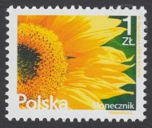 Kwiaty i owoce - znaczek nr 4625