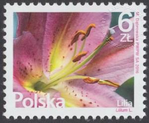 Kwiaty i owoce - znaczek nr 4703