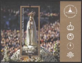 100-lecie Objawień Matki Bożej w Fatimie - Blok 202