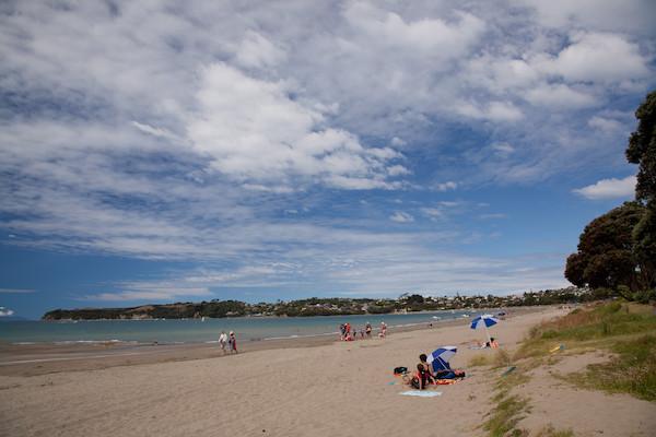 Big Manly Beach in Hibiscus Coast