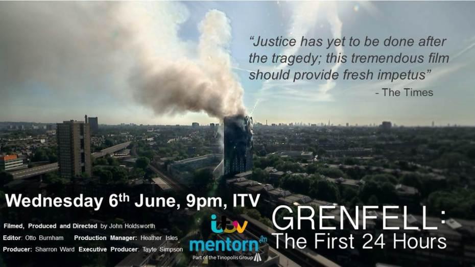 Grenfell ITV card