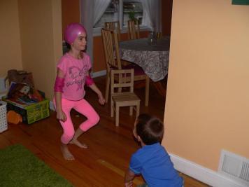 Viola a rózsaszín csapatban van