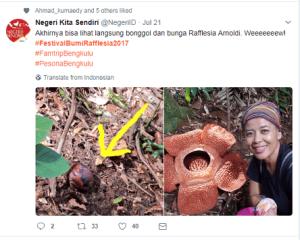 Bunga Rafflesia @NegeriID