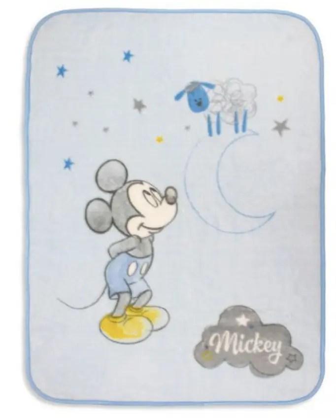 Manta de bebé Rachel Azul de Mickey Katarina Home