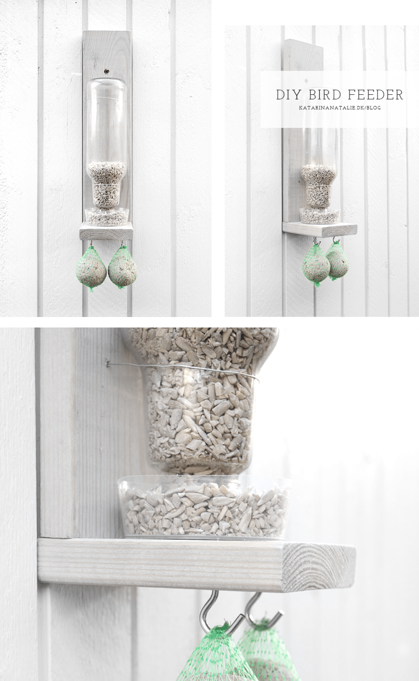 DIY bird feeder by Katarina Natalie