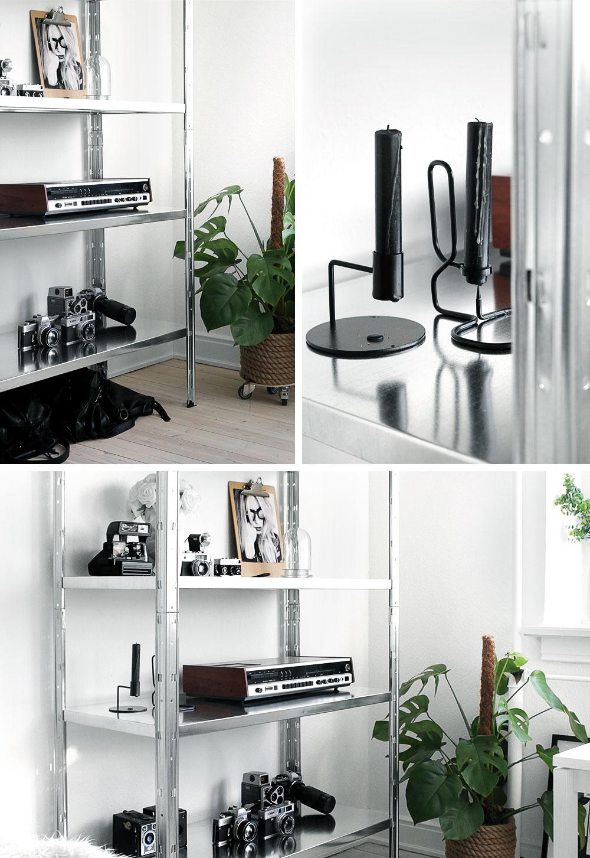 Budget tip: Bauhaus Stålreol || Katarina Natalie