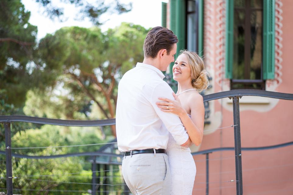 surprise proposal in Barcelona Park Güell