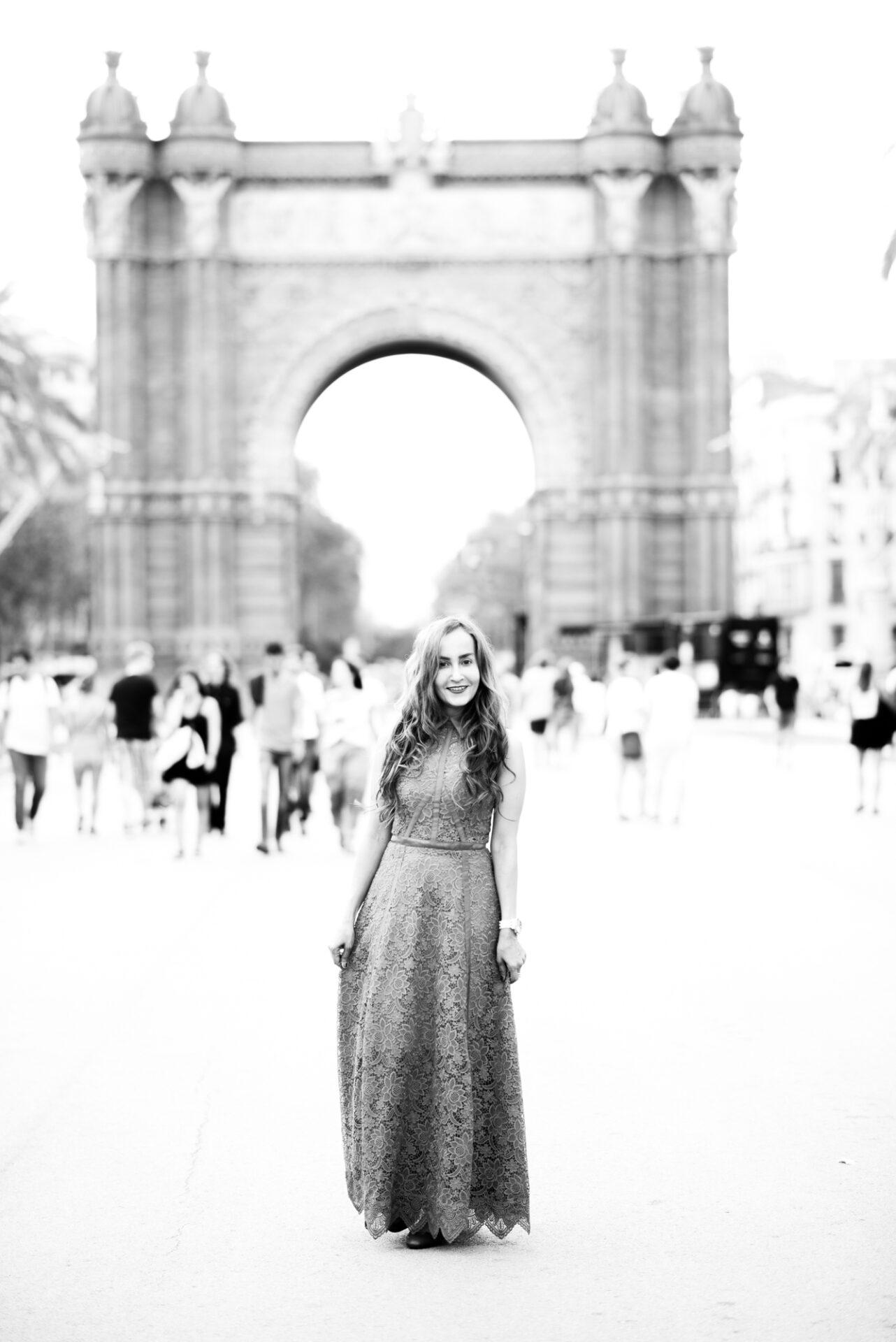 book de fotos mujer Barcelona