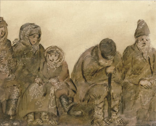 Illustration for The Boys by A.P. Chekhov