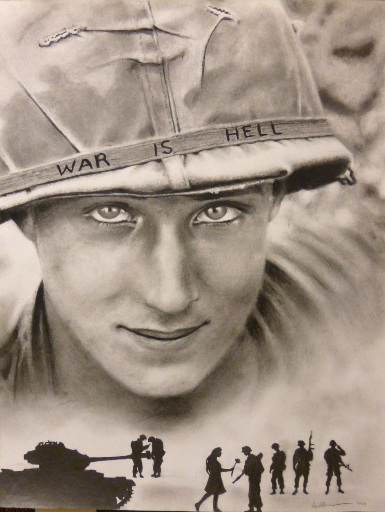 War Is Hell - Graphite & Charcoal