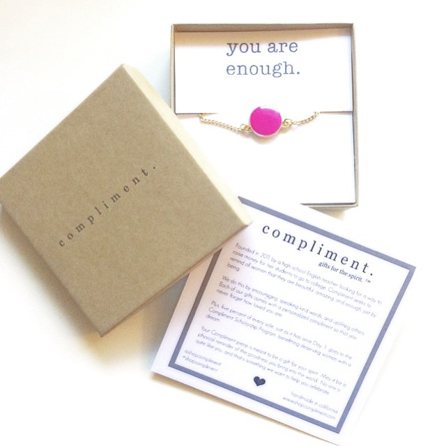 you are enough shop-compliment