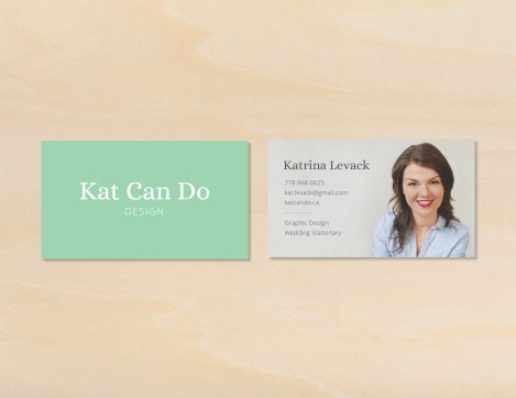 Week 6 - Business Cards for Me