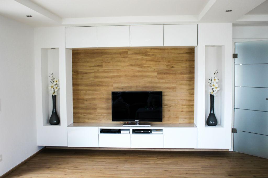 DIY living room wall at HOMIFY_17
