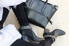 Outfit Peperosa black rock boots for summer