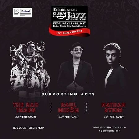 Emirates Airline Dubai Jazz Festival 2017