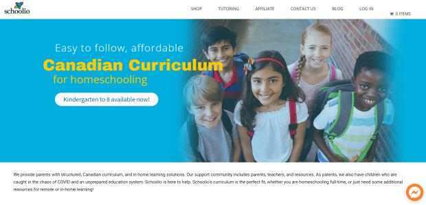 schoolio homepage