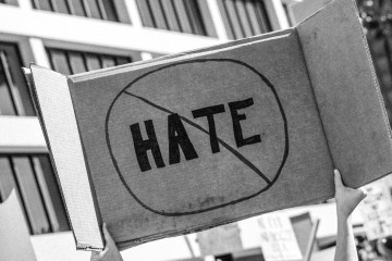 hate protest