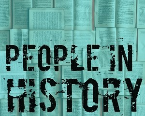 people in history blue