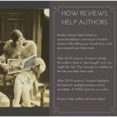 How Reviews Help Authors