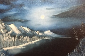 kate aaron winter moon bob ross