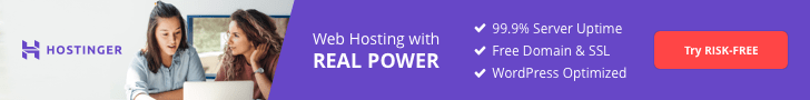 hostinger affiliate web hosting banner