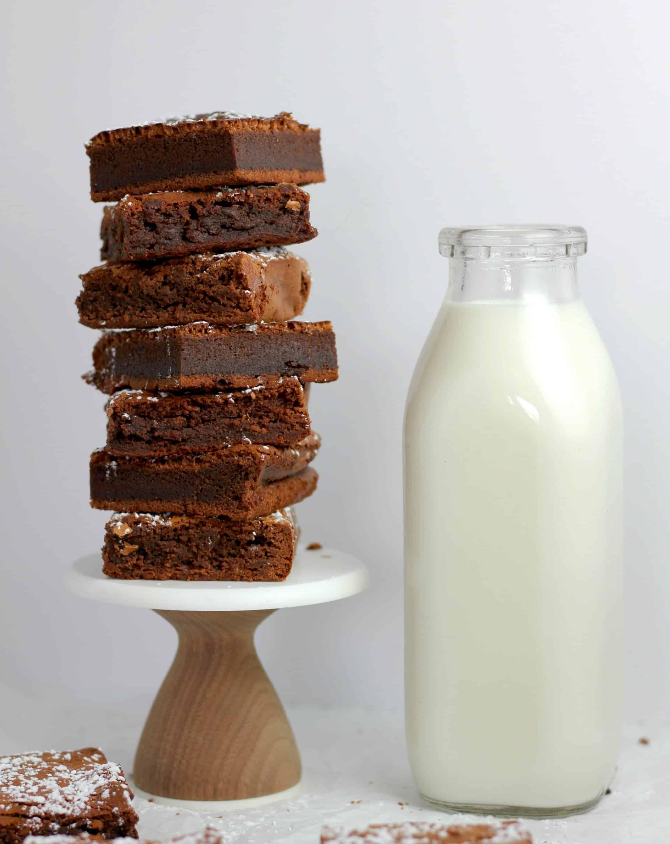 easy peppermint brownie recipe