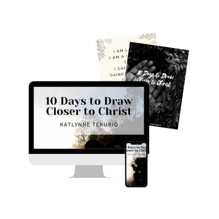 10 days to draw closer to Christ book bundle
