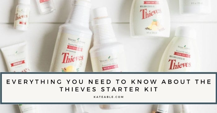 featured image for thieves starter kit guide