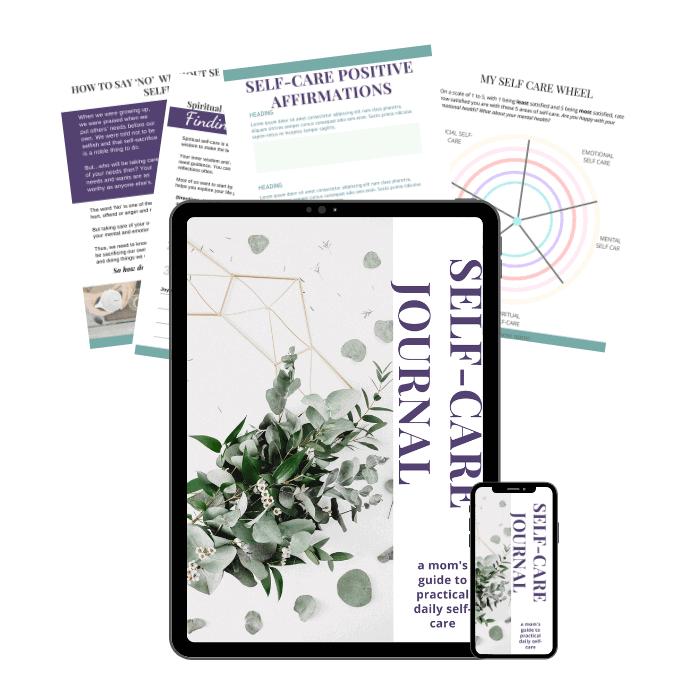 self care workbook pdf for new moms