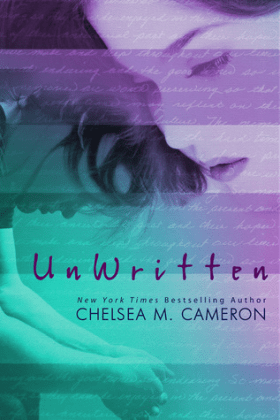 UnWritten by Chelsea M. Cameron Review Cover to Cover Book and Blogging Blog by Kat Snark book talk review two 2 stars disliked