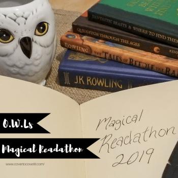 O.W.Ls Magical Readathon TBR