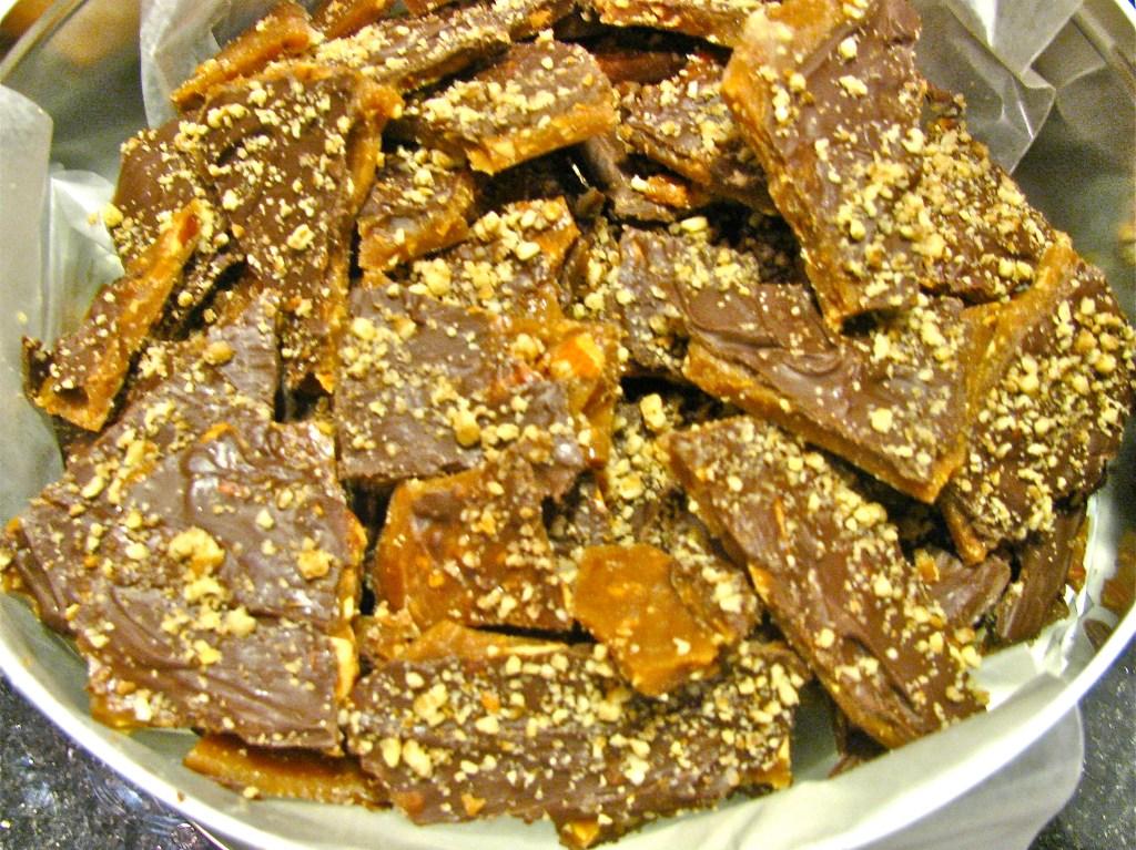 Chocolate Almond ButterCrunch
