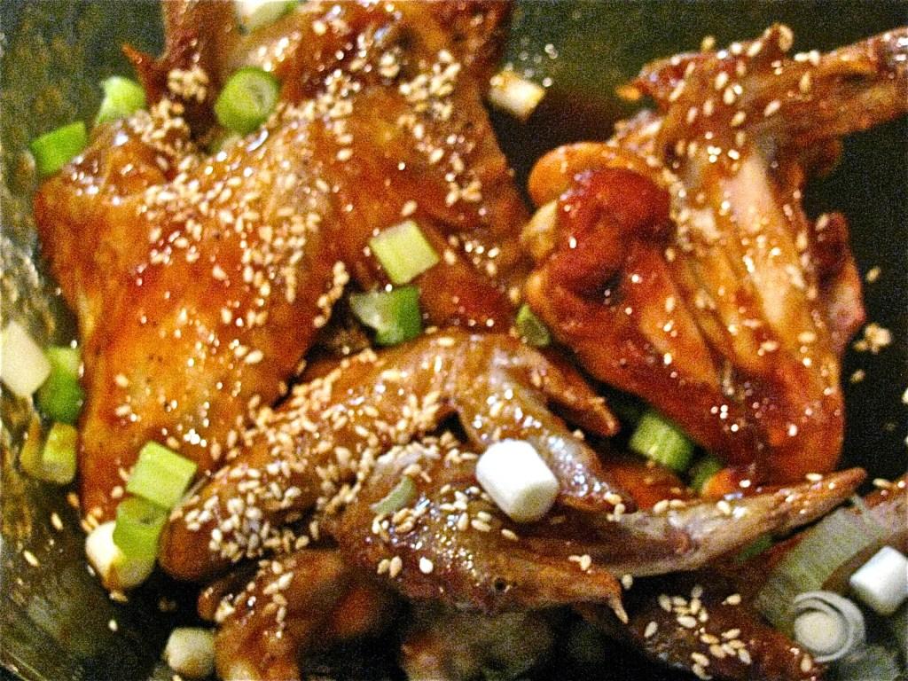 Terrific Teriyaki Chicken Wings