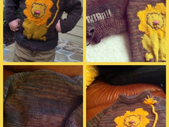 Sweater collage