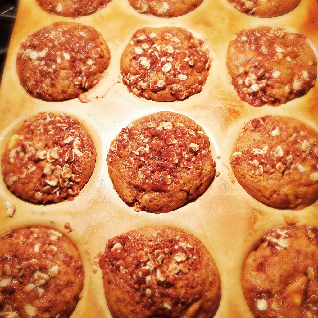 Apple Pumpkin Gluten Free Muffins