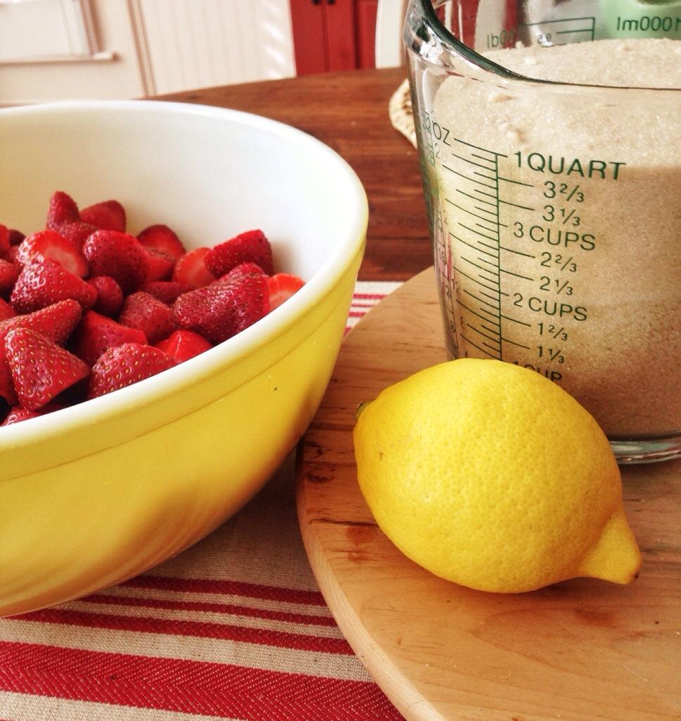Homemade Strawberry Preserves
