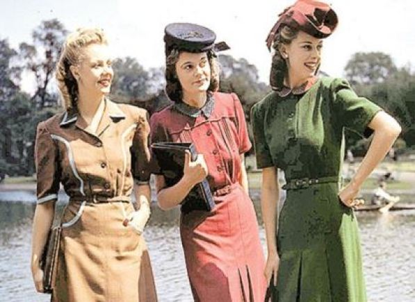 1940s fashion as seen on Kate Beavis vintage blog