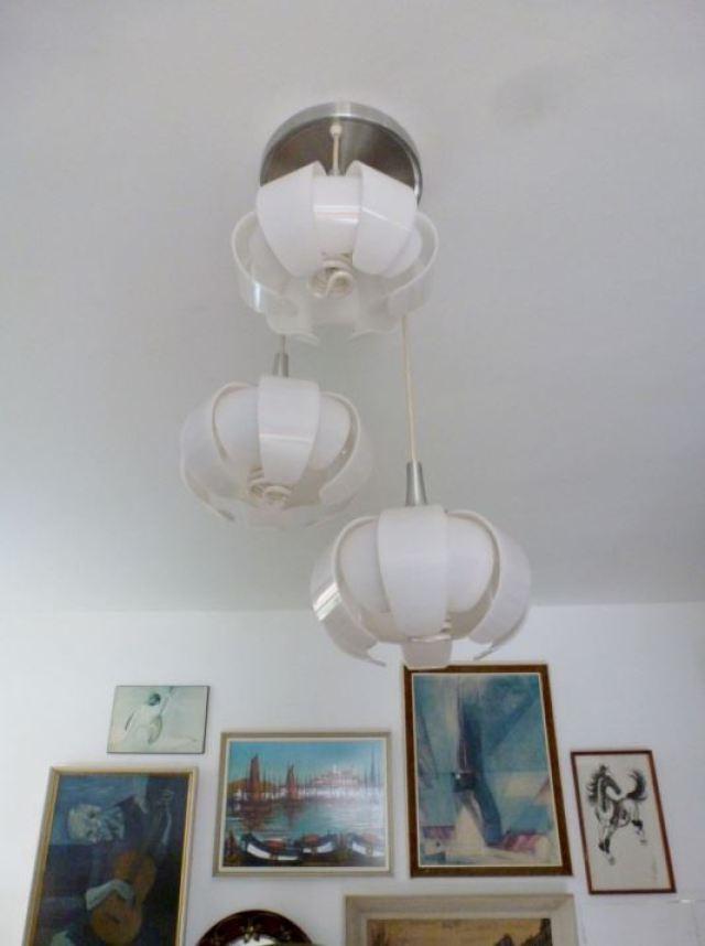 1960s lights vintage retro mid century as seen on Kate Beavis Home blog