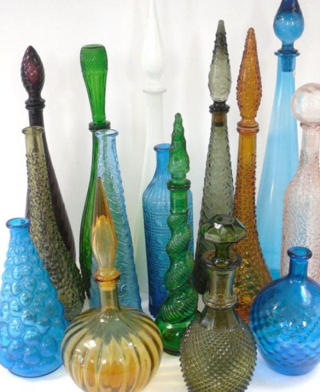 vintage medicine bottles by Kate Beavis