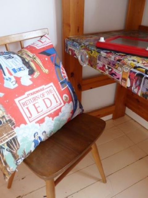 Vintage Boy bedroom by Kate Beavis